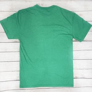 Quiksilver Shirts - Quicksilver Green Graphic Tee